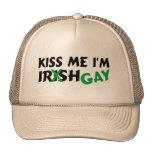 Kiss Me Im Irish Gay Trucker Hats
