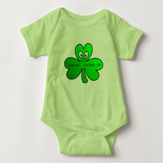 """Kiss Me! I'm Irish-ish"" Baby Bodysuit"