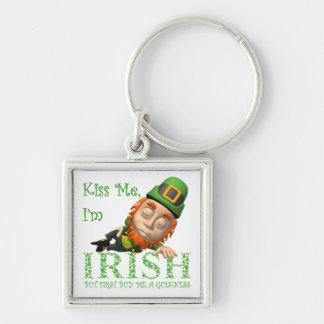 Kiss Me I'm Irish Keychains