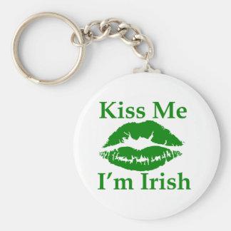 Kiss me I'm Irish Key Chain