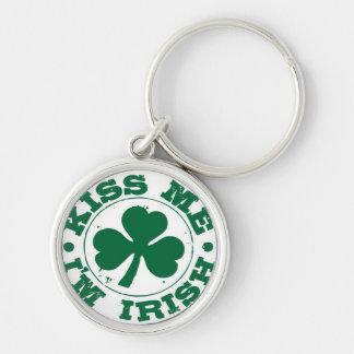 """""""Kiss me, I'm Irish"""" Keychain"""