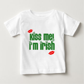 kiss-me-im-irish-lips baby T-Shirt