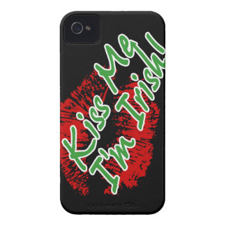 Kiss Me I'm Irish Lips Case-mate iPhone 4 case