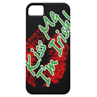 Kiss Me I'm Irish Lips Case-mate iPhone 5 case
