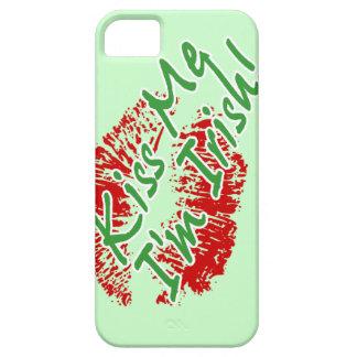 Kiss Me I'm Irish Lips Customizable iPhone 5 case