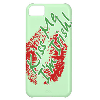 Kiss Me I'm Irish Lips Customizable iPhone 5 case