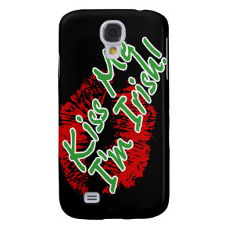 Kiss Me I'm Irish Lips iPhone 3 Speck case