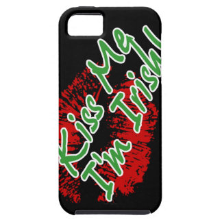 Kiss Me I'm Irish Lips iPhone 5 case