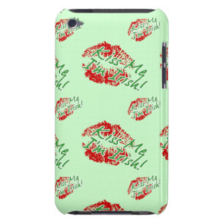 Kiss Me I'm Irish (Lips) iPod Touch case