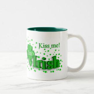 Kiss Me, I'm Irish Lucky St. Patrick's Day Mug