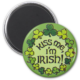 Kiss Me I'm Irish - Magnet