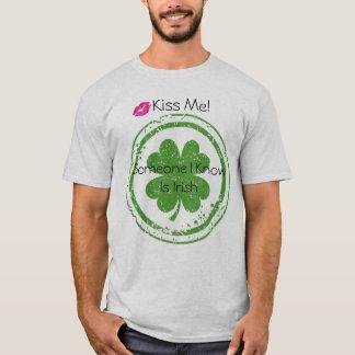 Kiss Me I'm Irish Men's T-Shirt
