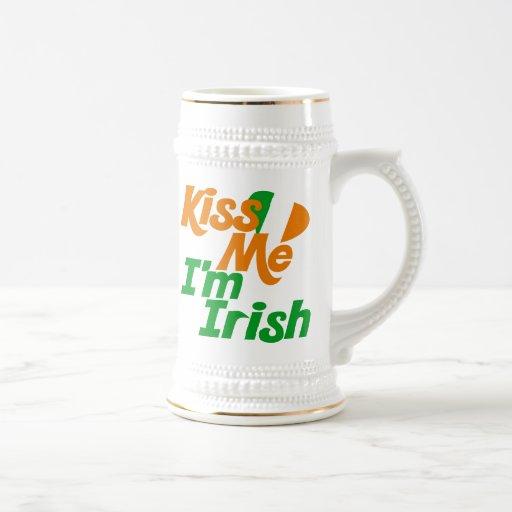 Kiss me Im Irish Mug