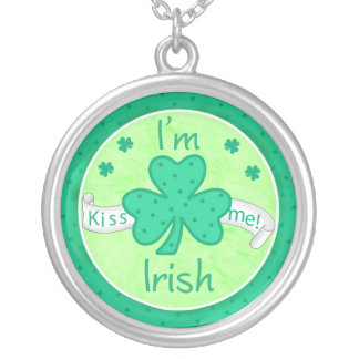 Kiss Me - I'm Irish Necklace