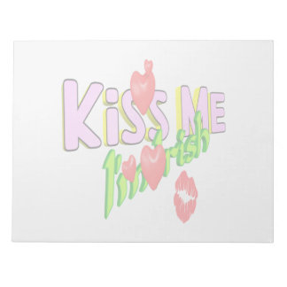 Kiss Me Im Irish Memo Pads