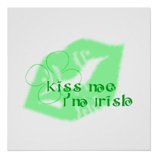Kiss Me I'm Irish Print