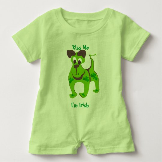 Kiss Me, I'm Irish Puppy T-shirt