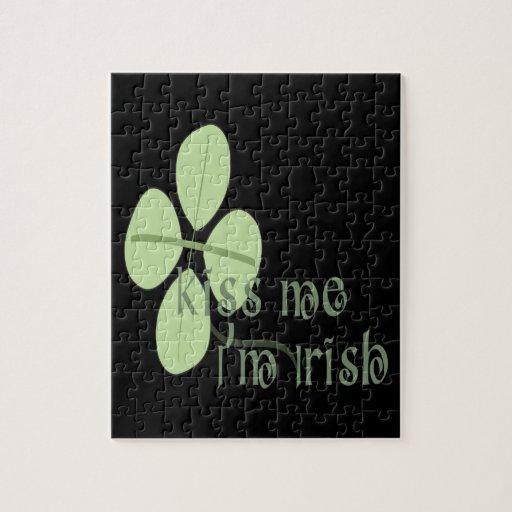 Kiss Me Im Irish Jigsaw Puzzles