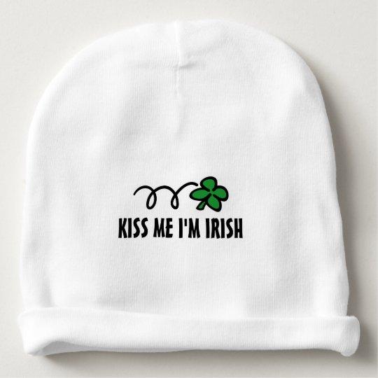 KISS ME I'M IRISH St Patricks Day baby