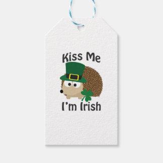 Kiss Me Im Irish St Patricks Day Hedgehog