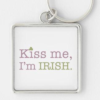 Kiss Me I'm Irish St. Patrick's Day Keychain