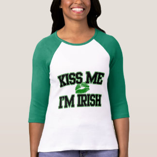 Kiss Me I'm Irish, St Patricks Day Shirt