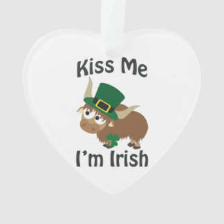 Kiss Me Im Irish St Patricks Day Yak