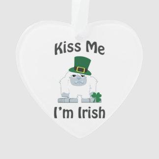 Kiss Me Im Irish St Patricks Day Yeti