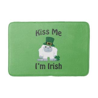 Kiss Me Im Irish St Patricks Day Yeti Bath Mats