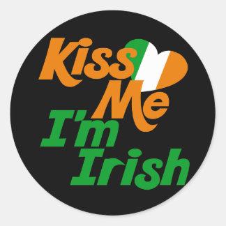 Kiss me Im Irish Sticker