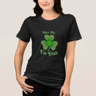 Kiss Me I'm Irish T-Shirt (using monUnique App)