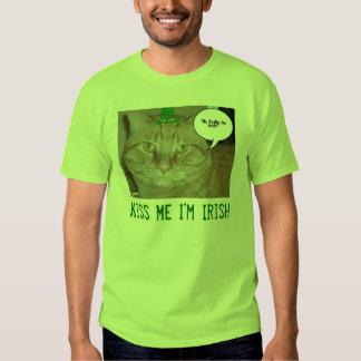 Kiss Me I'm Irish Tee Shirts