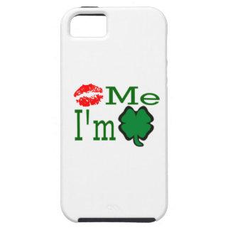 Kiss Me I'm Irish Tough iPhone 5 Case