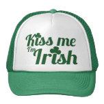 Kiss me I'm Irish Trucker Hats