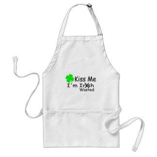Kiss Me Im Irish Wasted Aprons