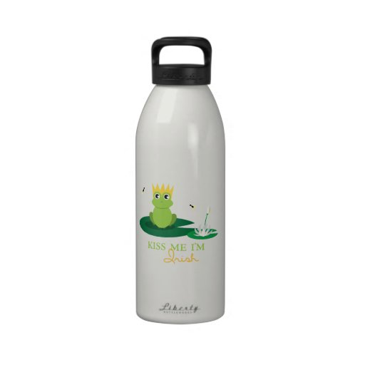 Kiss Me Im Irish Water Bottles