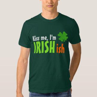 Kiss Me I'm Irishish Irish-ish Shirt