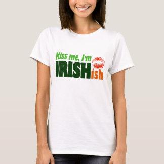 Kiss Me I'm Irishish T-Shirt