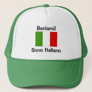 Kiss Me! I'm Italian Trucker Hat