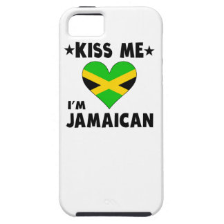 Kiss Me I'm Jamaican Case For The iPhone 5