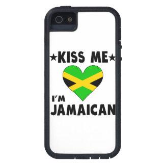 Kiss Me I'm Jamaican iPhone 5 Cases