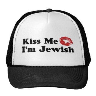 Kiss Me I'm Jewish Cap
