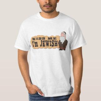 Kiss me! I'm Jewish! - Finest Jewish humor T-Shirt