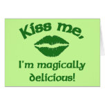 Kiss Me I'm Magically Delicious Cards