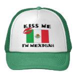 Kiss Me I'm Mexican Cap
