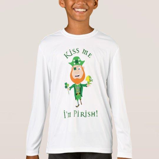 Kiss Me I'm Pirish! T-Shirt