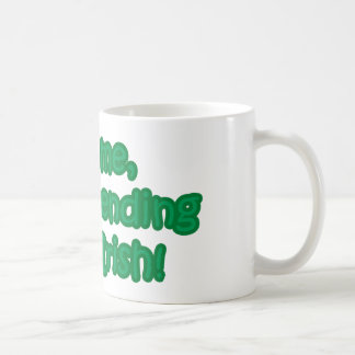 Kiss Me, I'm Pretending to Be Irish Basic White Mug