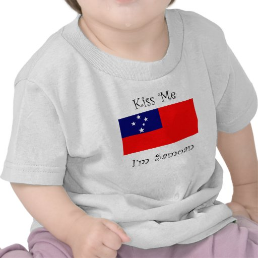 Kiss Me I'm Samoan T Shirt