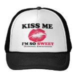 Kiss me I'm so sweet Mesh Hat