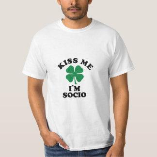 Kiss me, Im SOCIO Tees